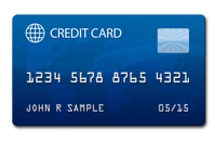 mock Credit Card 1