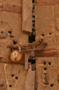 Door from days gone by 1