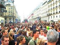 Parade in Paris
