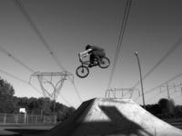 Cyclist Jump