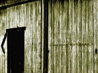Brown Barn Door