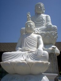 Buddha's Garden 2 Buddhas