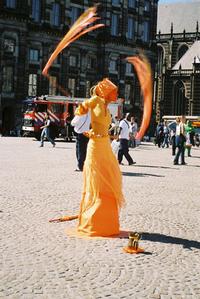 Female Street Artist
