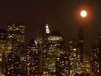 Moon Over Manhattan 1