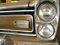 old brown car