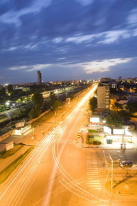 The Bukarest Night Sky