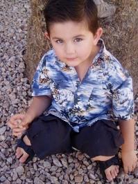 Hawaiin boy