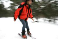 ski woman