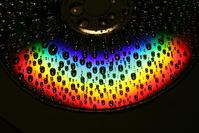 Rainbow on a wet CD