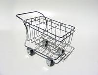 supermarket pushcart