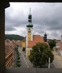tiny Hungarian town