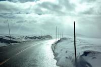 Desolate highway