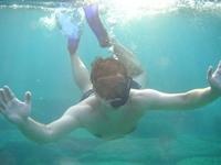 underwater hello