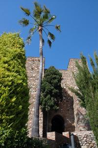 Tower Tinel in Alcazaba of Malaga