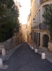 Street in Montpellier