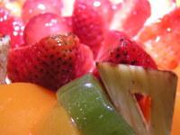 Macro of fruit cake 7