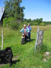Countrywomen on wheels