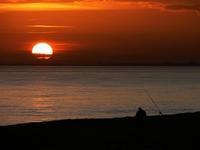 Sunset over Hythe
