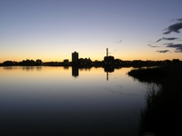 Moncton night Skyline