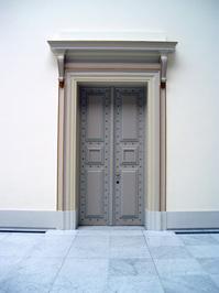 museum door