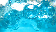 Blue Gel Bubbles
