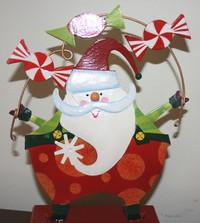 Juggling Santa