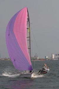 Dinghy sailing 2
