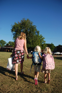 Big Sister: First day of school