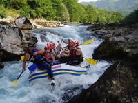 rafting on Neretva