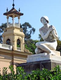 Statue of the Palau Nacional