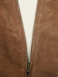 Open Jacket Zipper