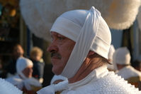 Gilles of belgian folklore
