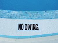 No Diving at the Pool