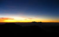 Sunrise at Java