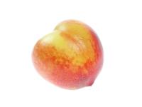 Isolated Nectarine
