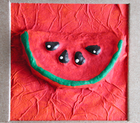 Paper watermelon