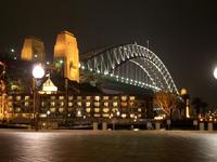 Harbour Bridge By The Night