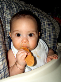 mi first cookie