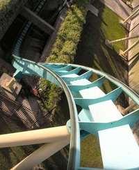 Roller Coaster - left curve
