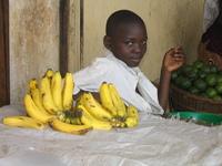 Boy with Bananas