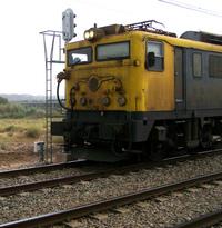 Train railway track