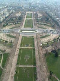 City Scape Paris Feb 04