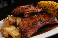 Fire Grilled Baby Back Ribs