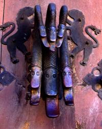 Snake's Door knocker