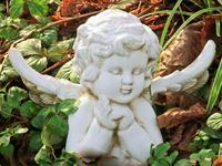 decorative angel figurine