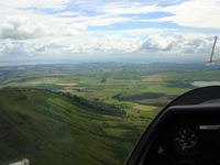 Gliding near Kinross Scotland