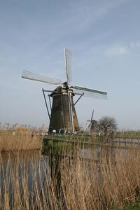 Dutch Windmill at Kinderdijk #1