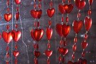 Heart beads