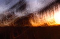 Digital Van Gogh Sunset