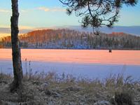 lone ice shack